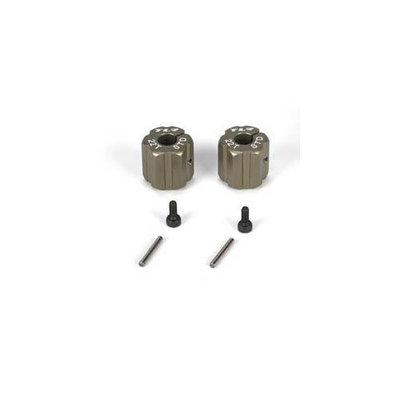 Rear Hex, Standard Width, Aluminum: 22T TLR2938 LOSI