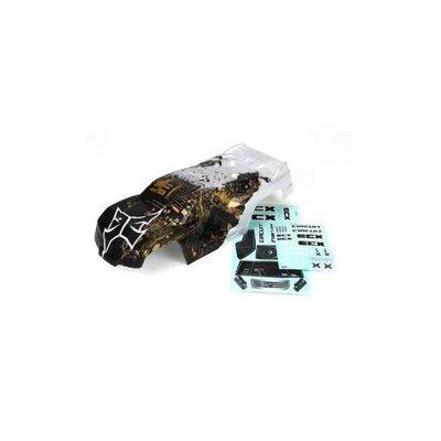 Electrix RC ECX230001 Body, Black/Silver: Circuit New ECX230001
