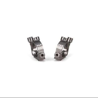 Castor Block Set, 15 degrees, Aluminum: 22-4 TLR234026 Team Losi