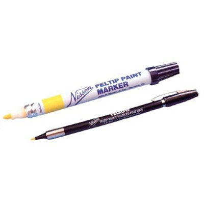 Nissen 43600357 Felt Tip Marker Silver