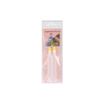 Sakura Hobby Craft Sakura 1771 3-D Crystal Lacquer Empty Applicator Pens 2/Pkg