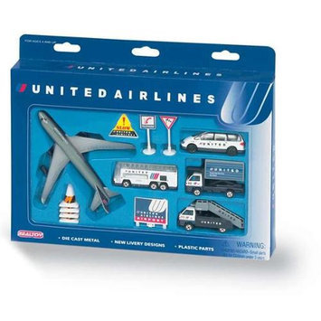 Daron Worldwide Trading United United Airlines Playset