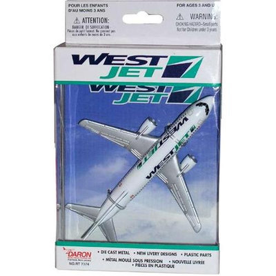 Daron Worldwide Trading RT7374 Westjet Single Plane