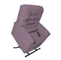 Mega Motion Mona Infinite Position Recline & Lift Chair with Heat and Massage (Lavender)