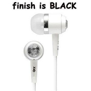 Qfx Quantum Lightweight Stereo Earbud Black