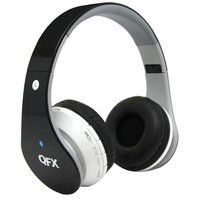 Quantumfx QFX H-251BT Wireless Bluetooth Stereo Headphone with FM Radio - Green