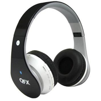 Quantumfx QFX H-251BT Wireless Bluetooth Stereo Headphone with FM Radio - Green