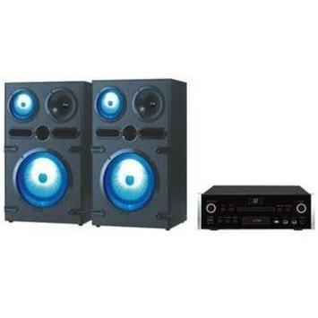 Qfx He-80820 2 Home Theater System - Dvd Player - Black - Dvd-r Cd-r - Dvd Video - Hdmi - USB (he-80820)