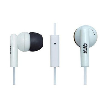 Qfx Quantum Earbuds Noise Isolating w Mic