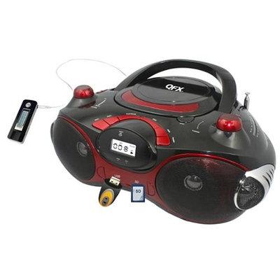 Qfx, Inc QFX Radio CD/MP3 Player with USB/SD