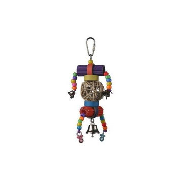 Super Bird Creations 67500605 Super Bird Creations Cutie Pitootie 7 x 3in Small Bird Toy