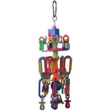 Super Bird Creations 67500617 Super Bird Creations Cascade 10 x 3in Medium Bird Toy