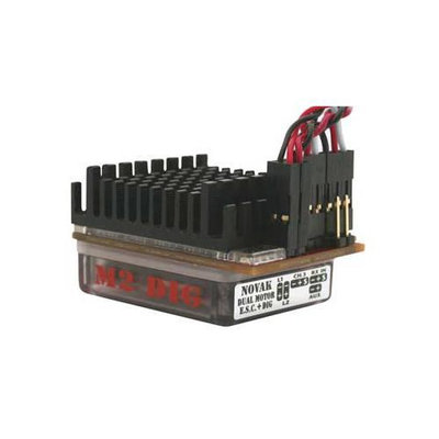 Novak Electronics 1846 M2 Dig Dual Brush ESC NOVM1846