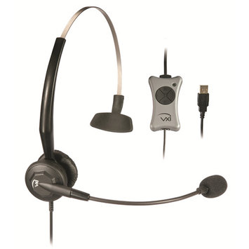 VXI Corporation Audio Headsets 203013 VXI TalkPro UC3 - Headset