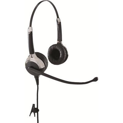 VXi UC ProSet 21G Binaural Single-Wire Headset Black