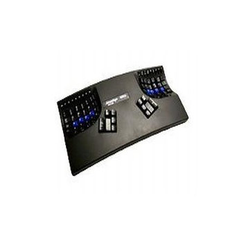 Kinesis Corporation KB500USB-BLK-LF The Kinesis Advantage Lf [linear Feel] Uitlizes The Cherry Mx Red Linear Switch.