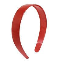 Unique-bargains Ladies Red Plastic Teeth Hair Hoop Headband Ornament