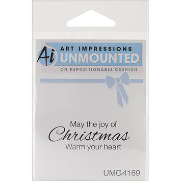 Art Impressions Christmas 2012 Cling Rubber Stamp-Warm Your Heart