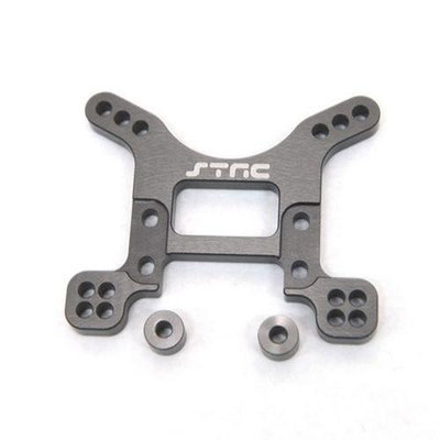 ST Racing Concepts STA80097FGM Aluminum Heavy Duty Front Shock Tower for The Exo Buggy (Gun Metal) STRC2066 ST RACING CO