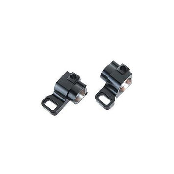 ST RACING CONCEPTS STC91414BK HD Aluminum Rear Hub Carriers Black (pair) B STRC9137 ST Racing Concepts