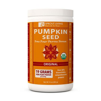 Sprout Living - Pumpkin Seed Pure Plant Protein Powder - 16 oz.