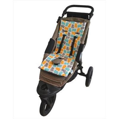 Tivoli Couture MFSL 1103 Luxury Memory Foam Stroller Liner Hippo - grey