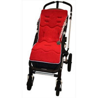 Tivoli Couture CL MFSL -Ruby Classic Luxury Memory Foam Stroller Liner Ruby Red