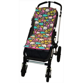Tivoli Couture MFSL 1091 Luxury Memory Foam Stroller Liner At the Zoo - pink