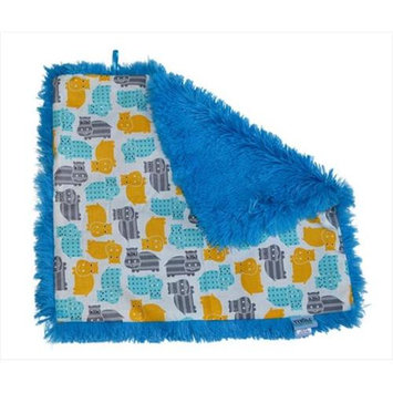 Tivoli Couture CSB 1103 Couture Shagg-e Stroller Blanket Happy Hippo - grey