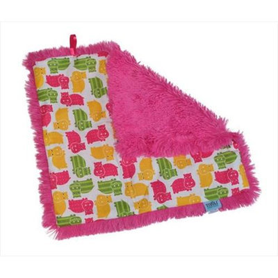 Tivoli Couture CSB 1102 Couture Shagg-e Stroller Blanket Happy Hippo - green