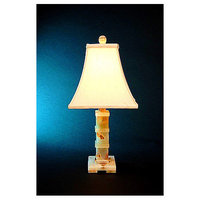 Lex Lighting Chartreuse Onyx Piano Table Lamp