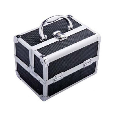 Aosom LLC Mini Cosmetics Train Case