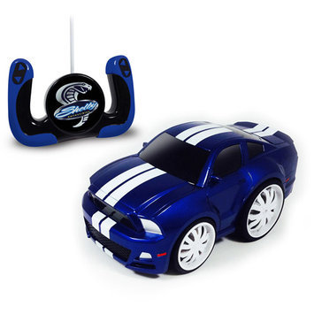 Shelby GT500 Radio-Control Chunky Car, Blue