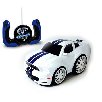 Shelby GT500 Radio-Control Chunky Car, White