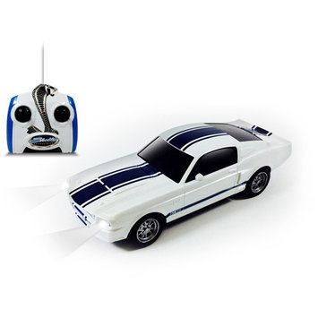 Shelby GT500 1/24 Scale R/C Car, White