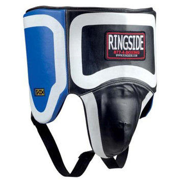Ringside Gel No Foul Boxing Protector - XL - Black/Blue