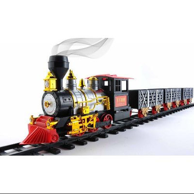 Unorth Llc CLASSICTRAIN Mota Classic Toy Train Set Withtoys Smoke & Sound