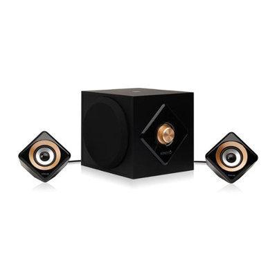 Kinivo - Big Bass 2.1 Bluetooth Speaker System (3-piece) - Black