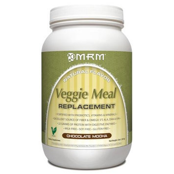 MRM Veggie Meal Replacement Chocolate Mocha 3 lbs - Vegan