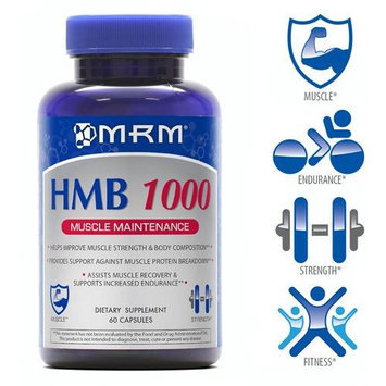 MRM HMB 1000 Muscle Maintenance 60 Capsules