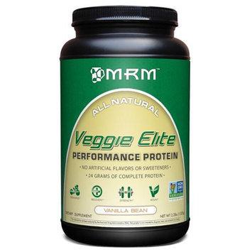 MRM Veggie Elite Performance Protein Vanilla Bean - 2.2 lbs - Vegan