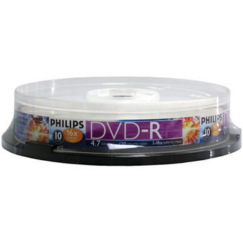 Pc Wholesale 4 7GB DVD R 10CT SPINDLE HEC0T60U1-1609