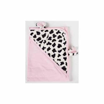 The Babymio Collection Pink Mooky the Cow Swaddler by Babymio - COSW400-P