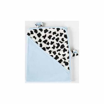 The Babymio Collection Blue Mooky the Cow Swaddler by Babymio - COSW400-BL