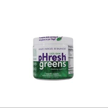 Phresh Products - Phresh Greens 100 Raw Organic Alkalizing Powdered Superfood - 5 oz.