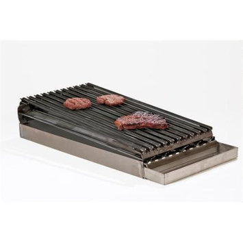 Rocky Mountain Cookware MB12-8 2-Burner Commercial Add on Broiler
