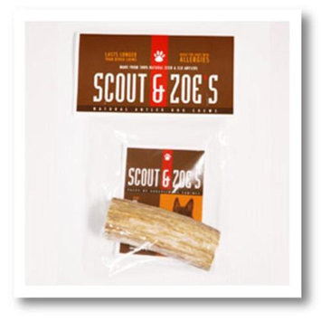 Scout & Zoes 5481 Medium Natural Antler Dog Chew