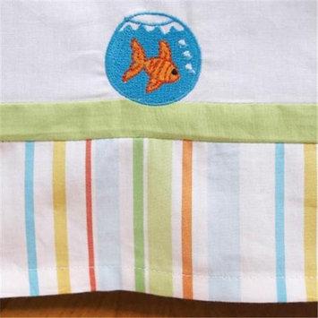 Little Acorn F12B10 Funny Friends Crib Bedskirt