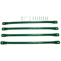 Eastern Jungle Gym Inc Eastern Jungle Gym 4-Pack Green Steel Monkey Bar Ladder Rung