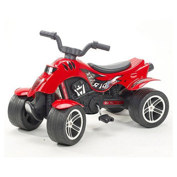 Kettler Falk Quad Pirate Pedal Riding Toy Red